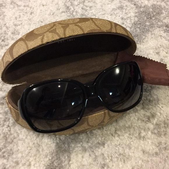 cbebea12743f Coach Accessories | Odessa Sunglasses S822 Black | Poshmark